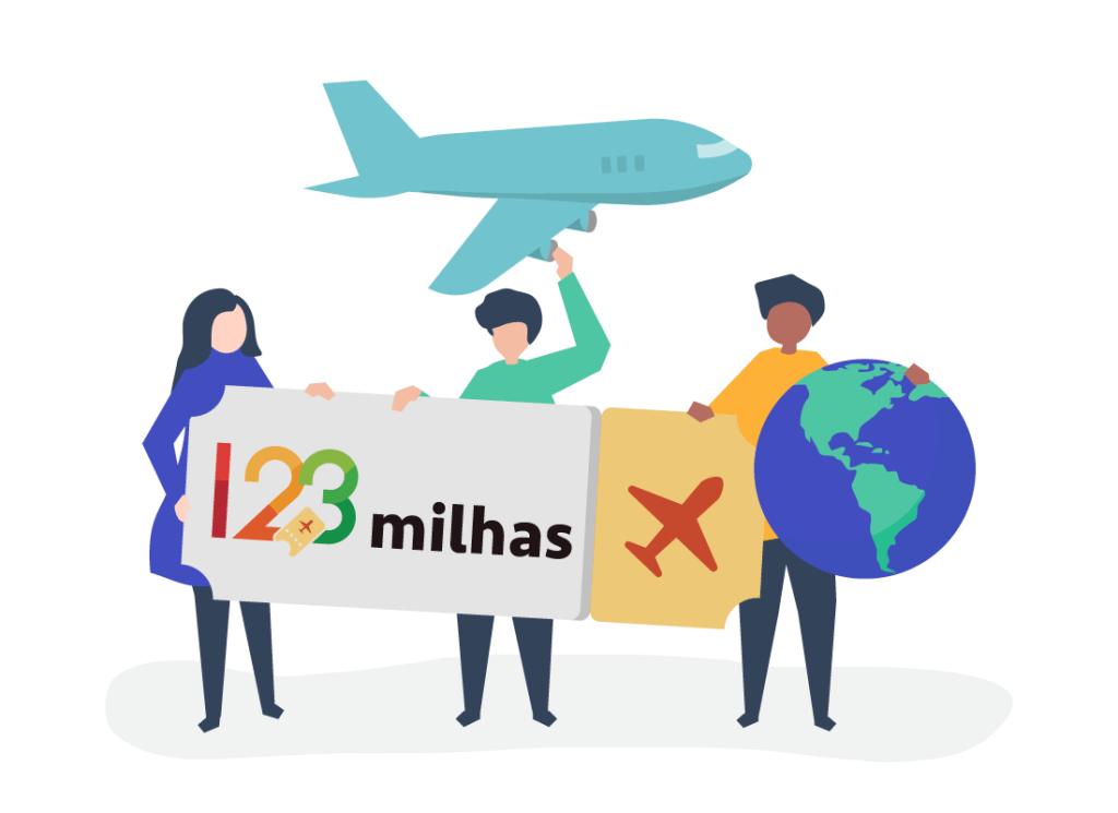 123 Milhas: Passagem Aérea com até 50% de Desconto